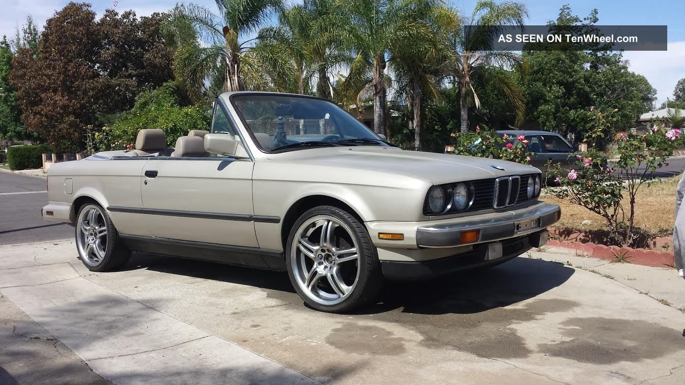 1987 Bmw E30 Convertible 5 Speed 3-Series photo