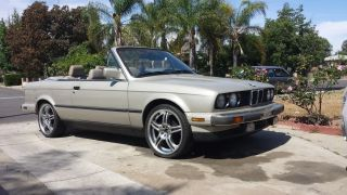 1987 Bmw E30 Convertible 5 Speed photo