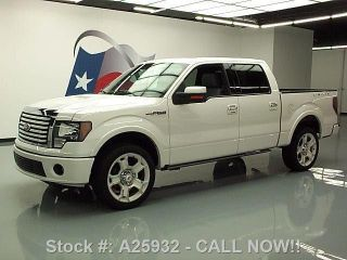 2011 Ford F150 Ltd Crew 4x4 26k Mi Texas Direct Auto photo