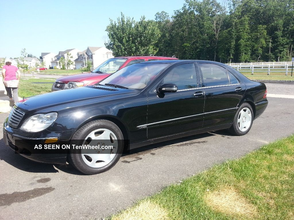 2002 mercedes s600 v12 loaded for Mercedes benz s 600 v12