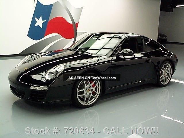 2009 Porsche 911 Carrera S 6 - Speed 19 ' S 27k Texas Direct Auto 911 photo