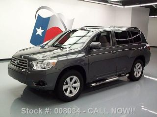 2009 Toyota Highlander Side Steps Alloy Wheels 60k Mi Texas Direct Auto photo