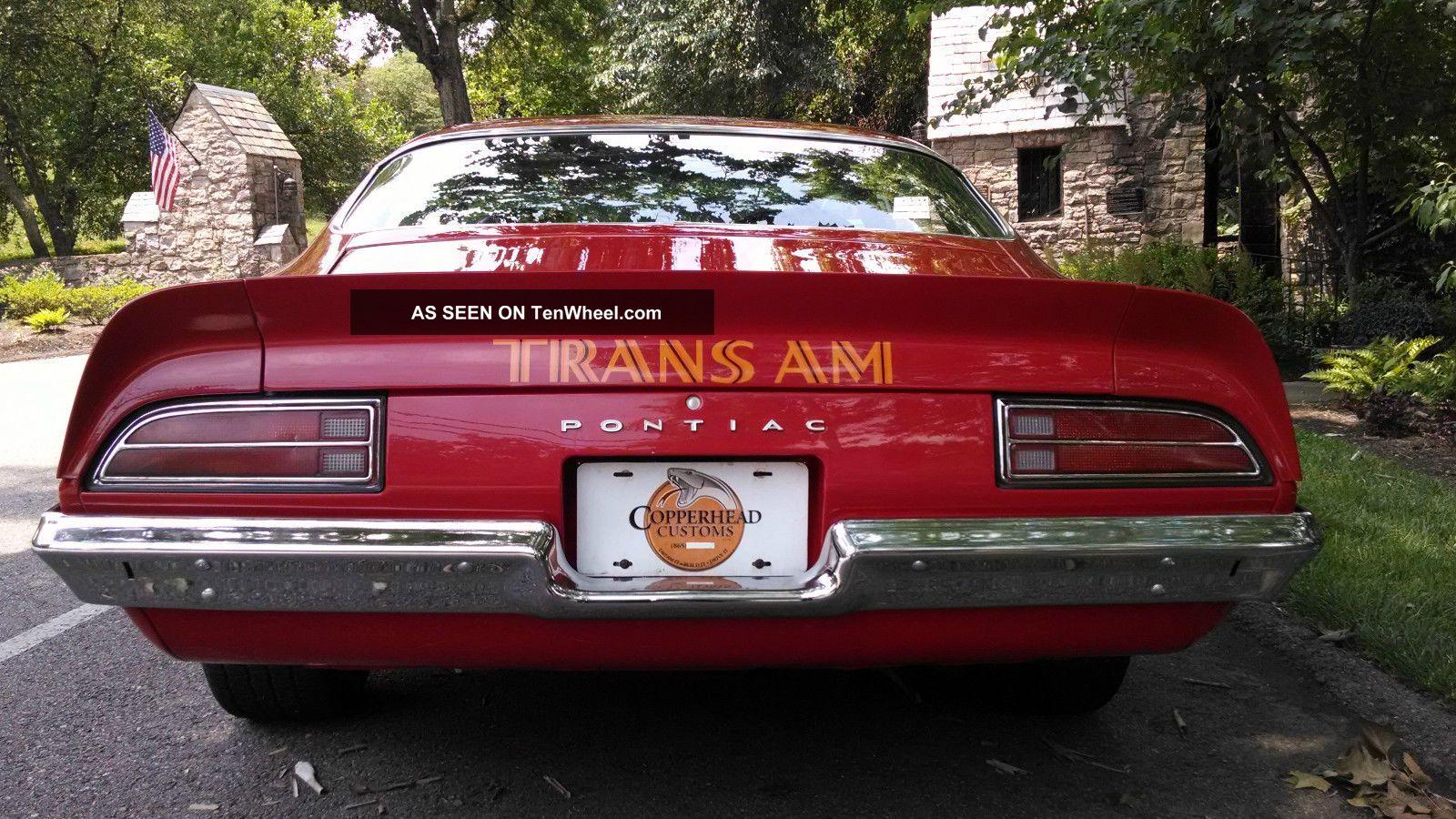Pontiac Trans Am Sd Lgw