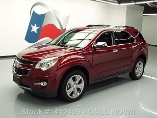 2010 Chevy Equinox Ltz Htd Dvd 1k Texas Direct Auto photo