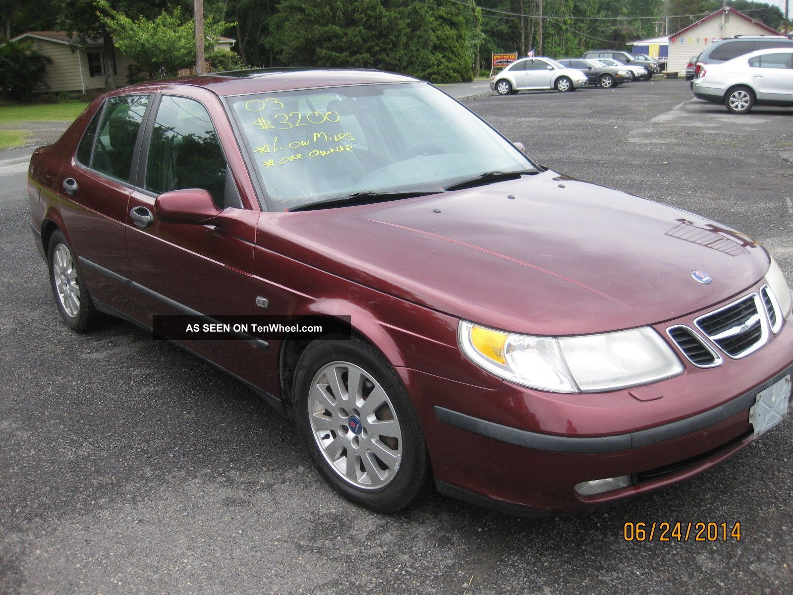 2003 Saab 9 - 5 Linear Sedan 4 - Door 2.  3l 9-5 photo