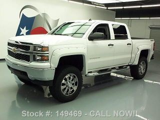 2014 Chevrolet Silverado Crew 4x4 Lifted 7k Mi Texas Direct Auto photo
