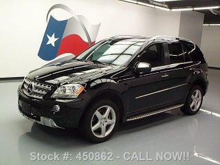 2009 Mercedes - Benz Ml550 4matic Awd Dvd 55k Texas Direct Auto photo