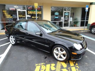 2006 Mercedes - Benz C230 Sport - Black On Gray, ,  3 Month Included photo