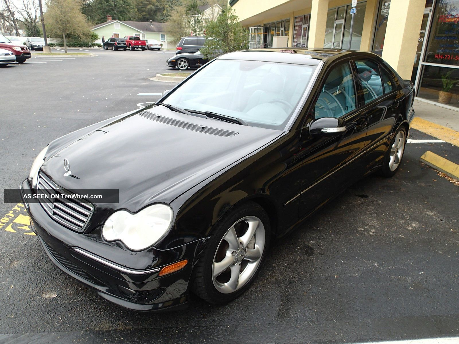 2006 mercedes benz c230 sport black on gray 3 month for Mercedes benz c230 sport