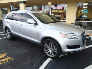 2007 Audi Q7 -,  3rd Row Seating,  Awd,  Florida Car, photo