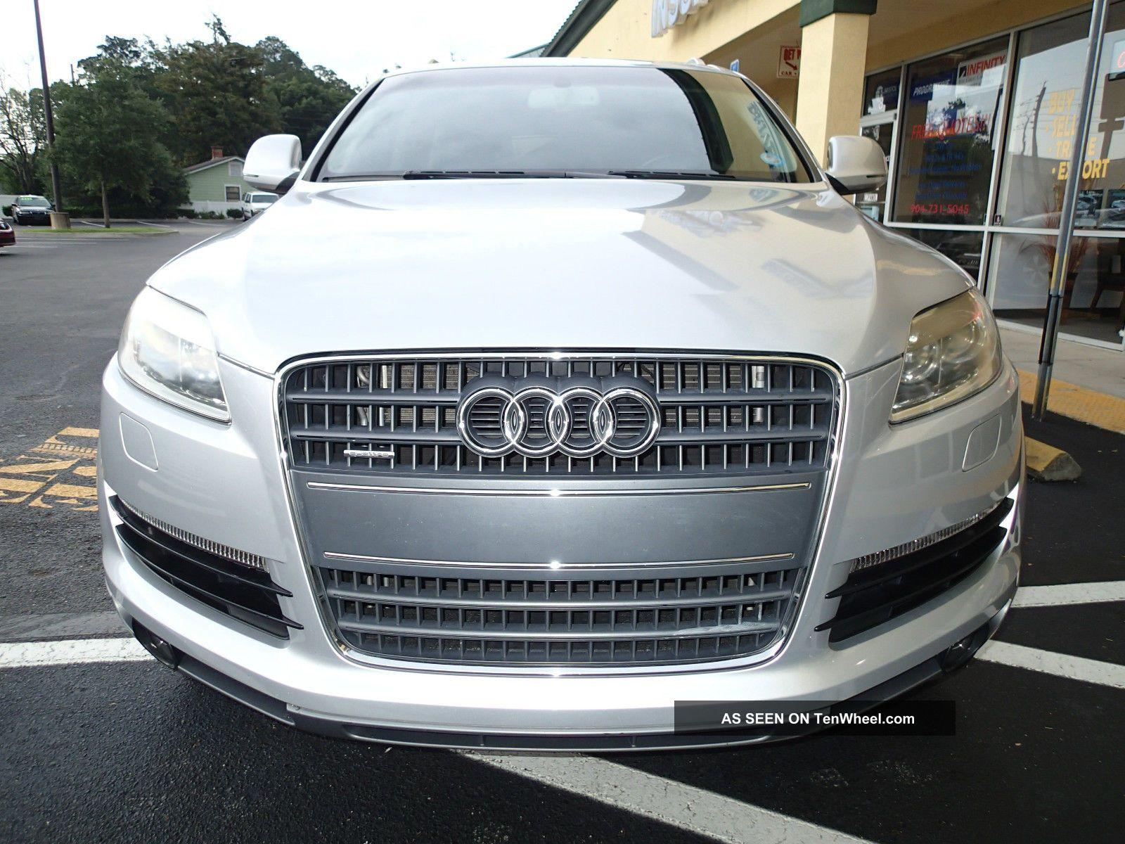 2007 Audi Q7 -, 3rd Row Seating, Awd, Florida Car,