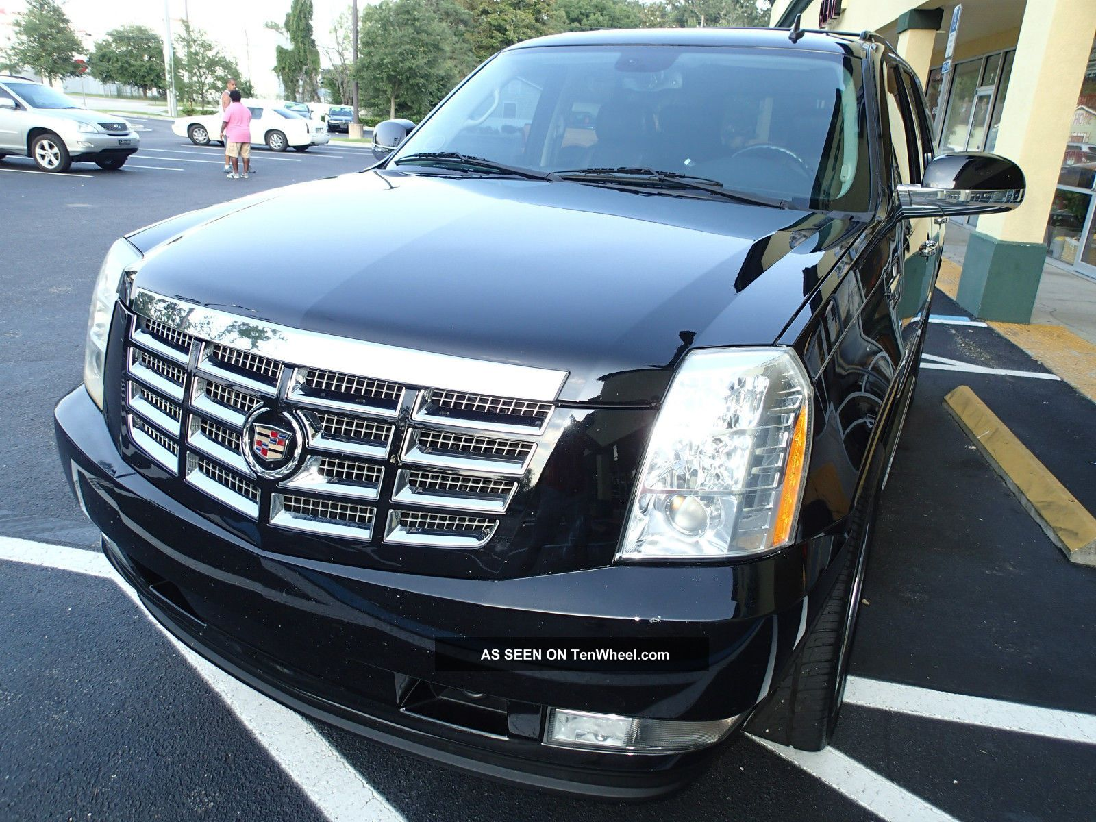 2008 Cadillac Escalade - We Have Two To Choose From Black And A Tan Escalade photo