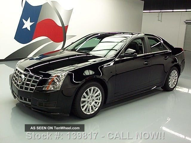 2012 Cadillac Cts4 3.  0 Lux Sedan Awd Pano Roof Texas Direct Auto CTS photo