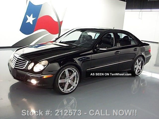 2008 mercedes benz e350 sedan 20 wheels 56k mi texas for Mercedes benz bloomfield mi