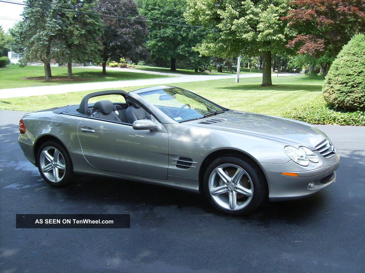 2006 mercedes benz sl500 convertible 2 door 5 0l for Mercedes benz sl convertible