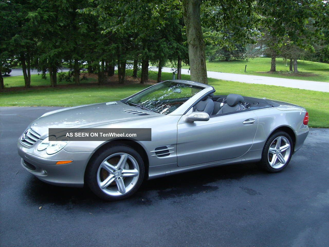2006 mercedes benz sl500 convertible 2 door 5 0l for Mercedes benz sl roadster