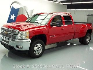 2011 Chevy Silverado 3500 Hd Ltz Crew Diesel Dually 56k Texas Direct Auto photo