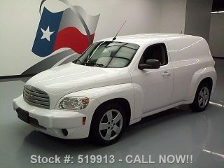 2010 Chevy Hhr Panel Van Cd Audio Cruise Control 57k Mi Texas Direct Auto photo