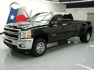 2011 Chevy Silverado 3500hd Ltz Crew 4x4 Diesel Drw 49k Texas Direct Auto photo
