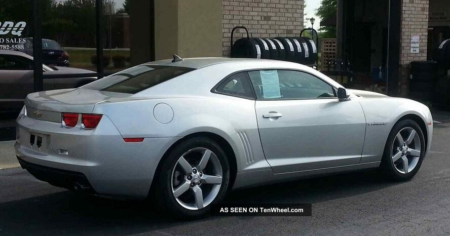 2011 Chevrolet Camaro 2lt Coupe 2 Door V6 Silver With Seats