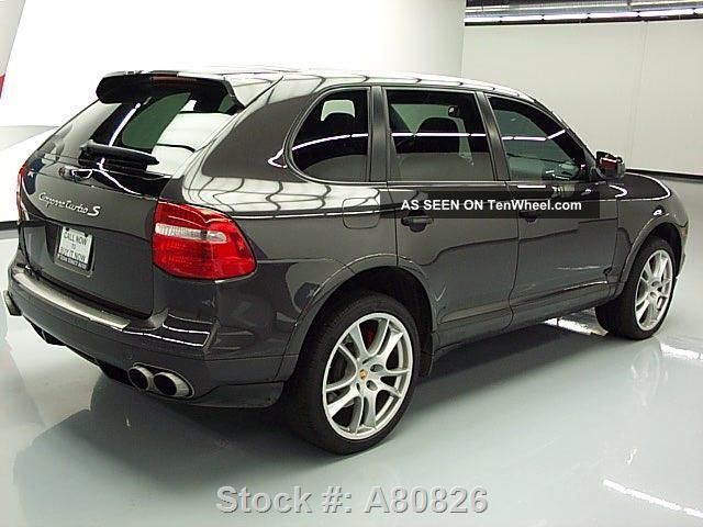 2009 porsche cayenne turbo s awd pano 51k texas direct auto. Black Bedroom Furniture Sets. Home Design Ideas