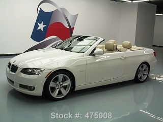 2010 Bmw 335i Convertible Hard Top Sport Twin Turbo Texas Direct Auto photo