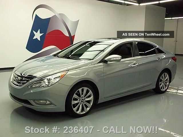 2011 Hyundai Sonata Ltd 2.  0t 46k Texas Direct Auto Sonata photo