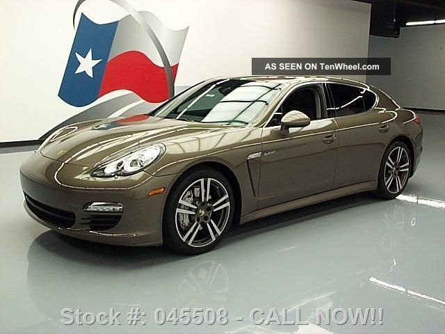 2012 Porsche Panamera S Hybrid 13k Texas Direct Auto Panamera photo