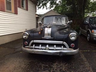 1950 2 Door Pontiac Hardtop Rat Rod - Body And Glass photo