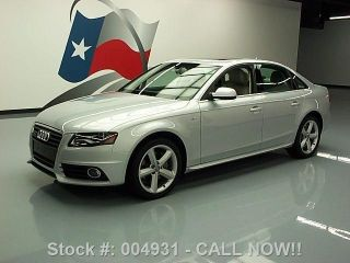 2012 Audi A4 Quattro Premium Plus S - Line Awd 61k Mi Texas Direct Auto photo