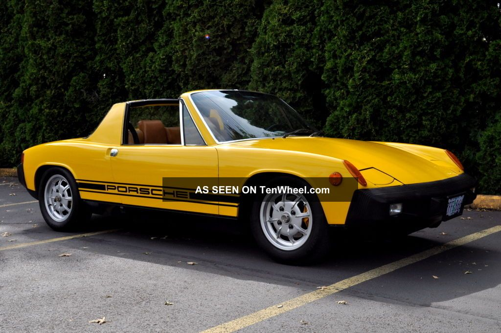 1975 Porsche 914 2.  0 Fuel Injection Targa Fresh And A 914 photo