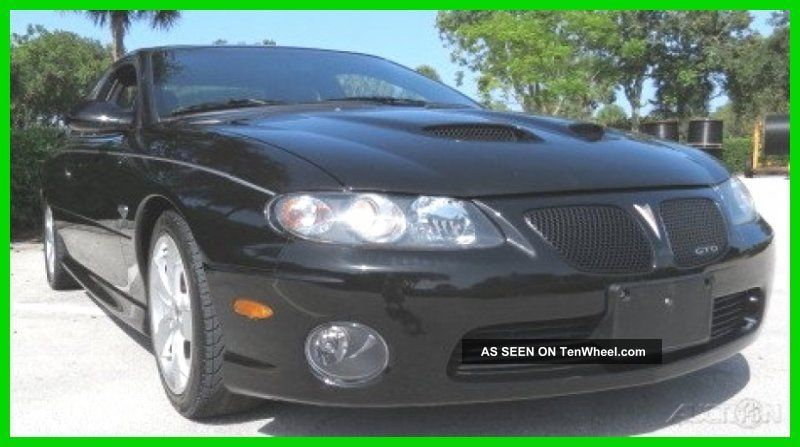 2006 Pontiac Gto 6l V8 16v Automatic GTO photo