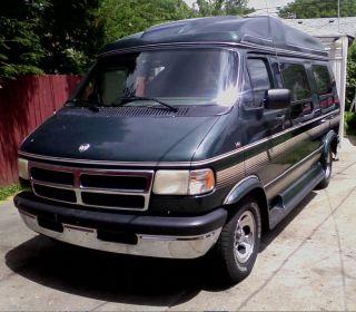 1995 Dodge Slt Conversion Ram Van V8 photo