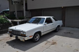 1980 Ford Fairmont Futura 4 Speed 4 Cyl.  2.  3 L Sweet Car Plaid Interior Unusual photo