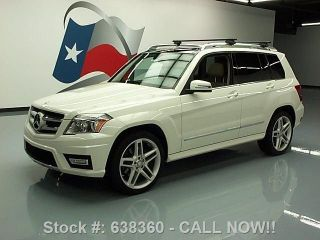 2011 Mercedes - Benz Glk350 4matic Awd Pano Roof 39k Texas Direct Auto photo
