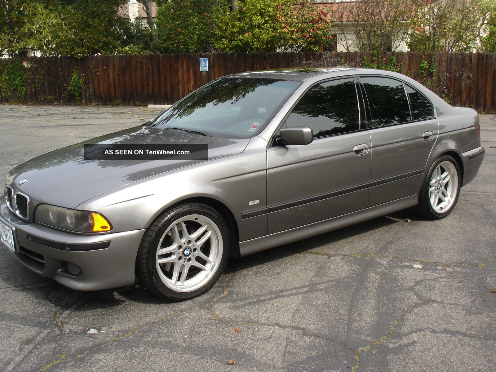 Rare 2003 Sterling Grey Bmw 540i M Sport Package Automatic