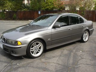 Rare 2003 Sterling Grey Bmw 540i M Sport Package Automatic With photo