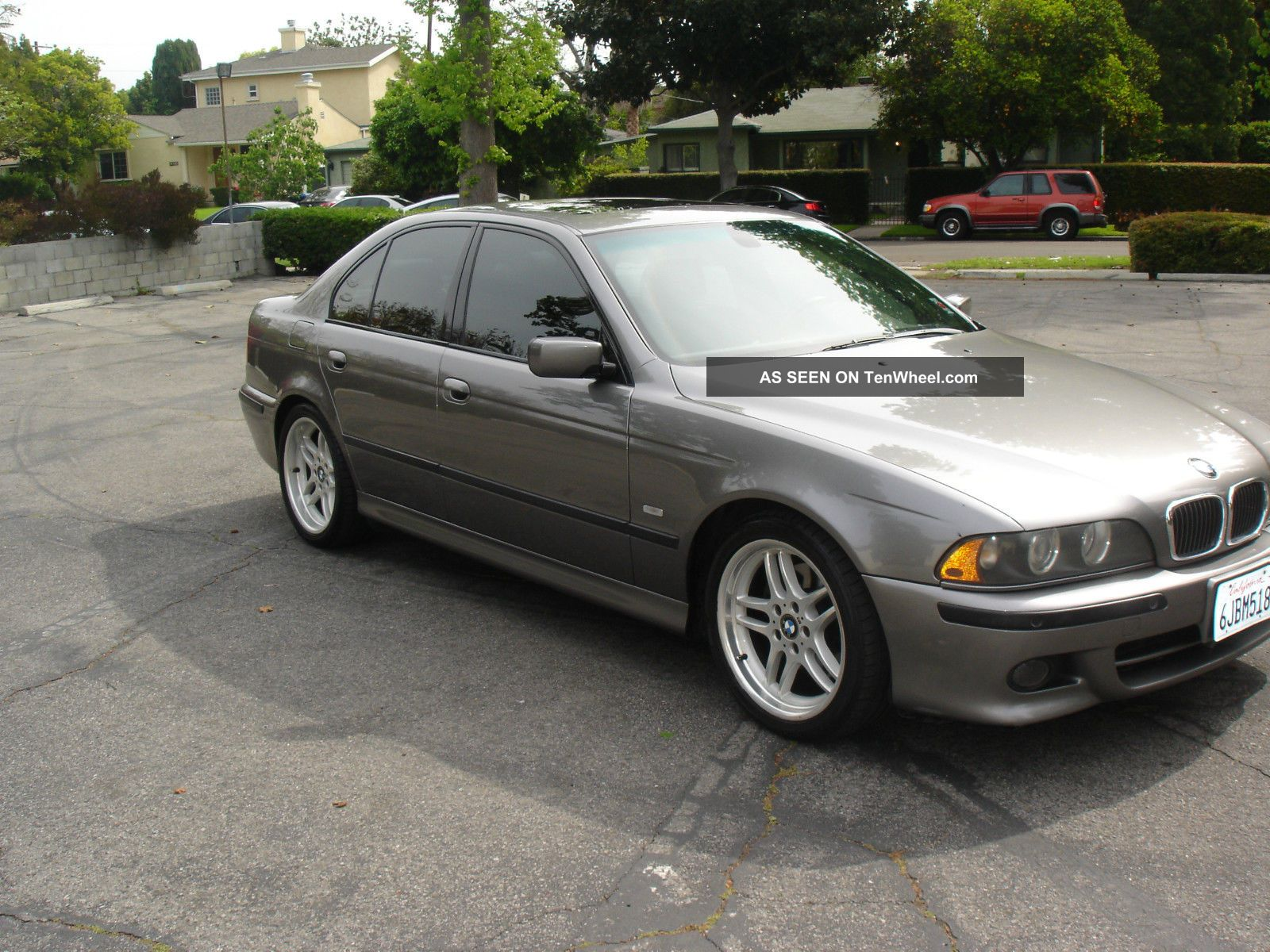 rare 2003 sterling grey bmw 540i m sport package automatic with. Black Bedroom Furniture Sets. Home Design Ideas