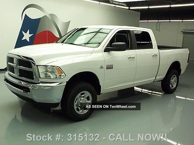 2012 dodge ram 2500 hd slt crew 4x4 h o diesel tow 49k texas direct auto. Black Bedroom Furniture Sets. Home Design Ideas