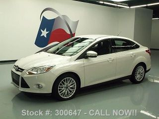 2012 Ford Focus Sel Auto Htd Alloy Wheels 19k Texas Direct Auto photo
