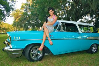 1957 Chevy Nomad Award Winning Frame Off Restoration Corvette Camaro photo