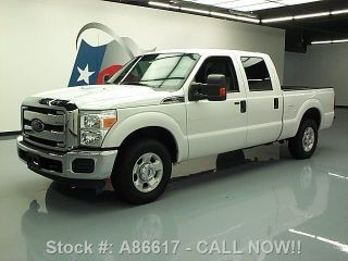 2012 Ford F250 Xlt Crew 6.  2l V8 6 - Pass Bedliner Tow 63k Texas Direct Auto photo
