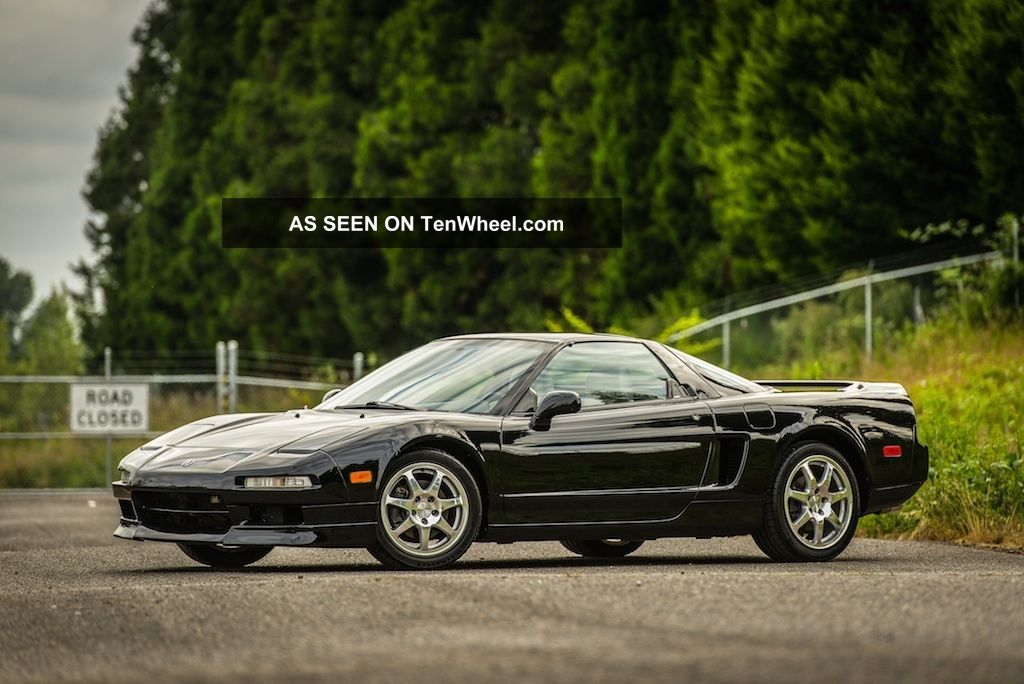 1991 Acura Nsx Sports Car Black Supercar Manual Rare NSX photo