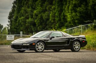 1991 Acura Nsx Sports Car Black Supercar Manual Rare photo
