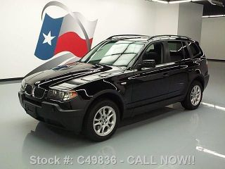 2005 Bmw X3 2.  5i Awd Pano Only 41k Texas Direct Auto photo