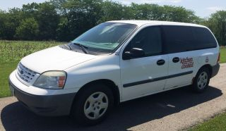 2005 Ford Freestar Cargo Mini Van White 05 photo