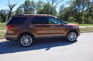 2012 Ford Explorer,  Low Mi, ,  4wd,  4dr,  V6,  Bronze Met photo