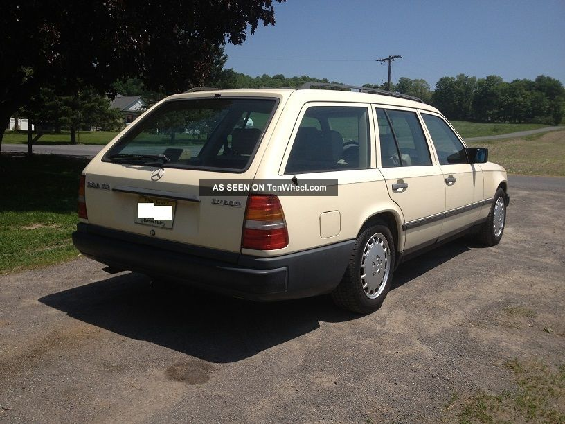1987 mercedes benz 300td turbo diesel wagon for Mercedes benz 300td