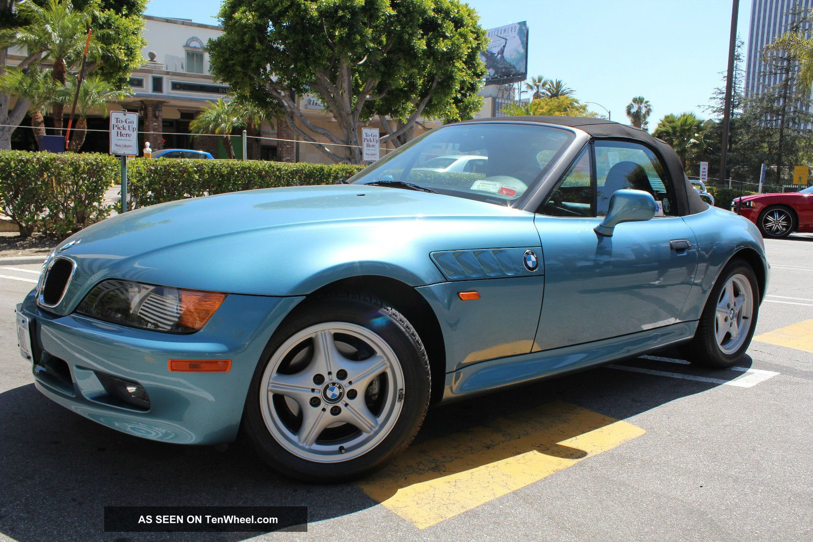 1996 bmw z3 roadster convertible 2 door 1 9l. Black Bedroom Furniture Sets. Home Design Ideas