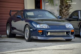 1995 Toyota Supra Turbo Targa 1342 Hp 3.  2l Promod 88mm Fullrace Hypertune Rps 2j photo